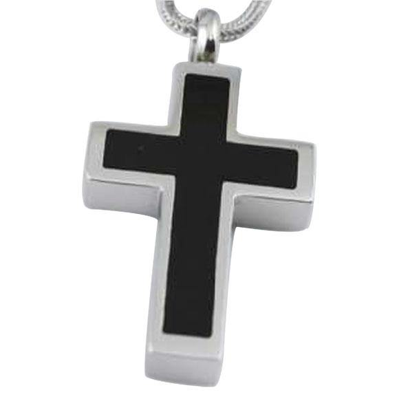 Silver Black Cross Jewelry - Exquisite Urns