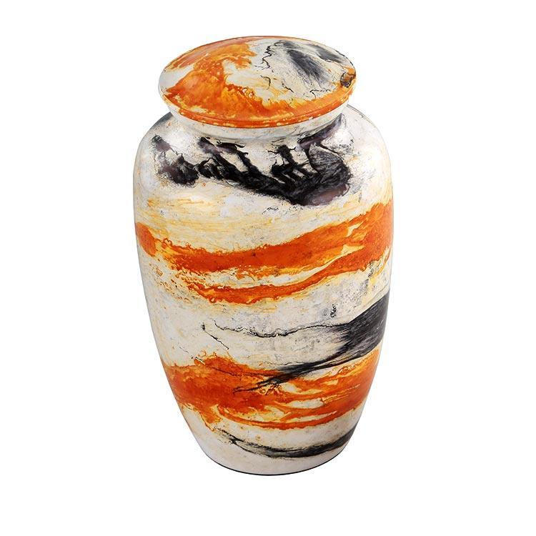 Caribbean Cremation Urn for Ashes in Sunset - Exquisite Urns