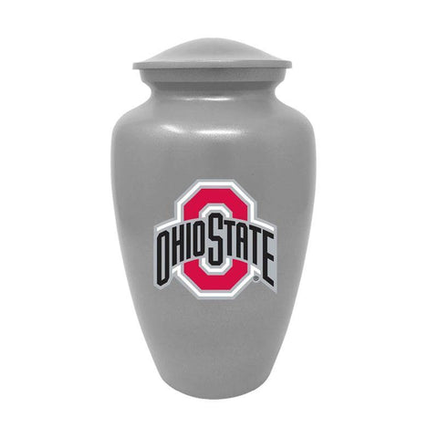Ohio State Buckeyes Adult Cremation Urn - Grey