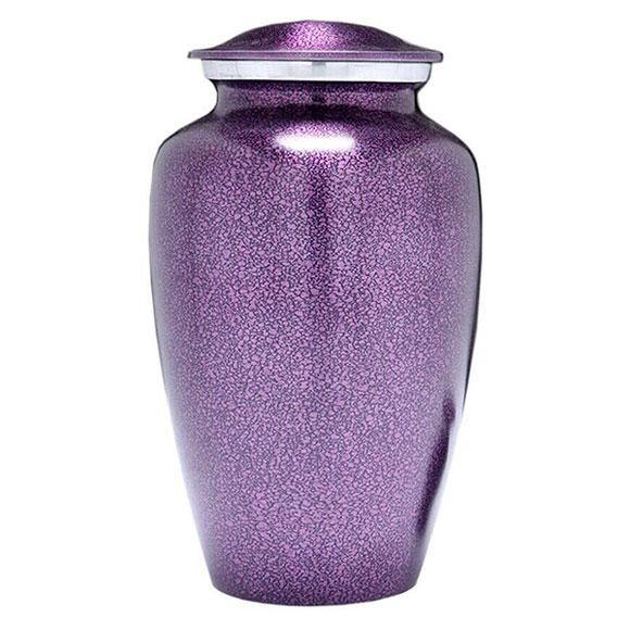 Purple Mist Urn for Human Ashes - Exquisite Urns