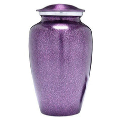 Purple Mist Urn for Human Ashes