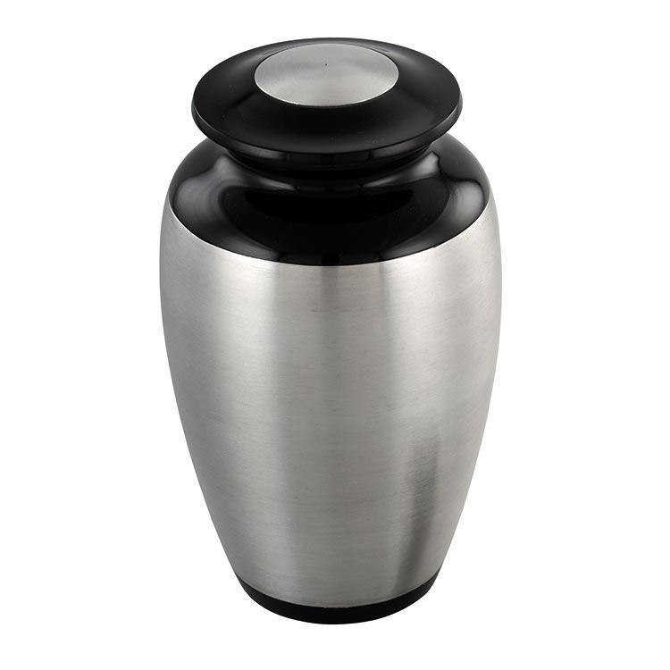 Sheen Adult Cremation Urn in silver - Exquisite Urns
