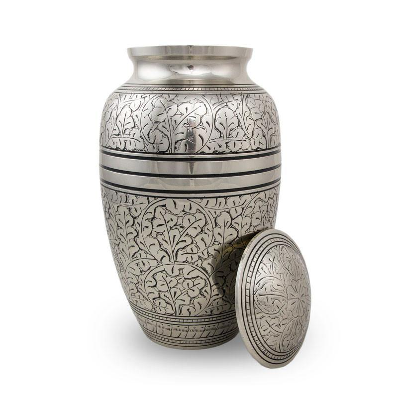 Silver Oak Cremation Urns For Ashes - Exquisite Urns