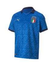 Load image into Gallery viewer, FIGC Italia Puma Youth home 20/21