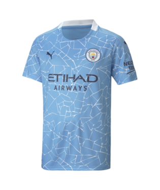 Youth Puma Manchester City Home Jersey 20/21