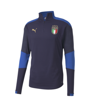 Men's Puma Italy Training 1/4 Zip Top