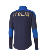 Load image into Gallery viewer, Men's Puma Italy Training 1/4 Zip Top