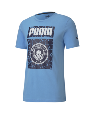 Men's Puma Manchester City Futbol Core Graphic Tee