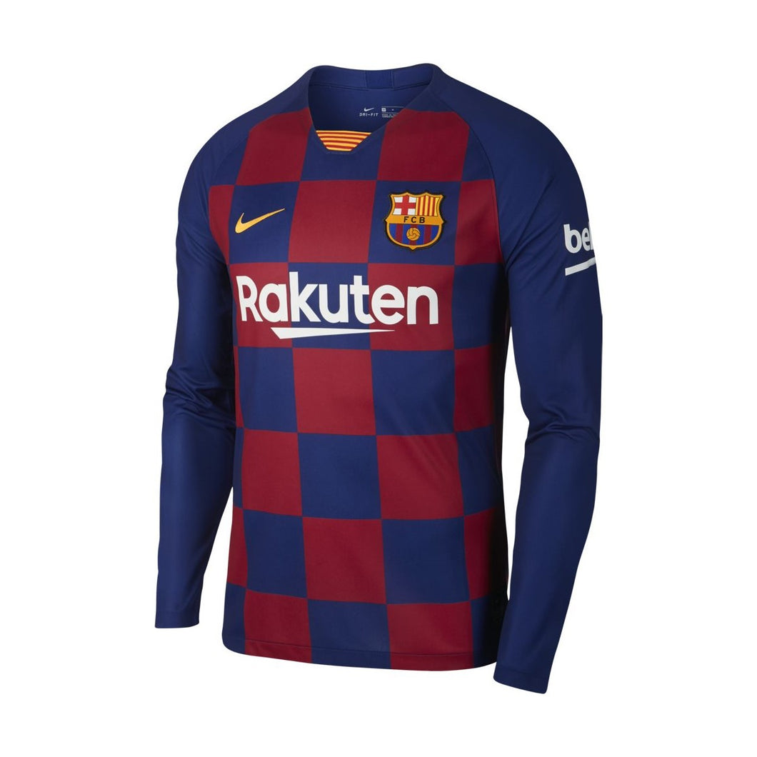 Men's Barcelona Home LS Jersey 19/20