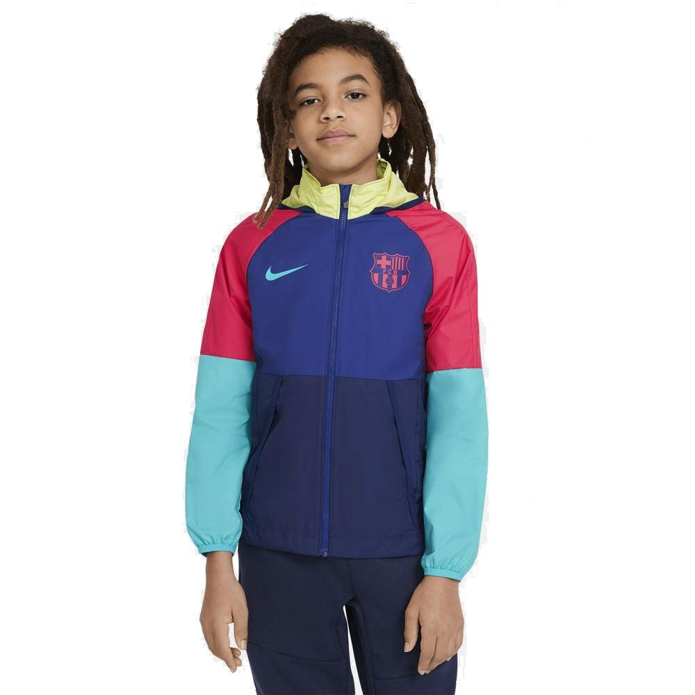 Youth Nike FC Barcelona All Weather Jacket