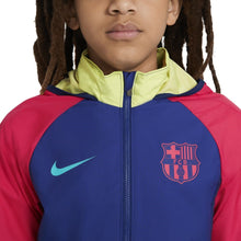 Load image into Gallery viewer, Youth Nike FC Barcelona All Weather Jacket