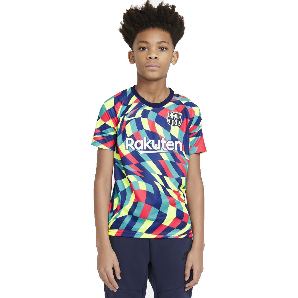Youth Nike FC Barcelona Pre Match Top