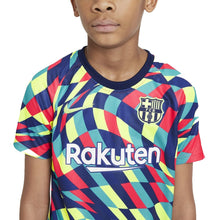 Load image into Gallery viewer, Youth Nike FC Barcelona Pre Match Top