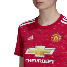 Load image into Gallery viewer, Women's adidas Manchester United Stadium Home Jersey 20/21