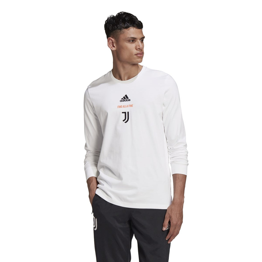 Men's adidas Juventus Long Sleeve Tee