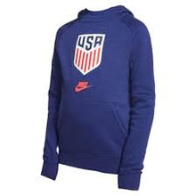 Load image into Gallery viewer, Nike Youth USA Fleece Pull Over Hoodie