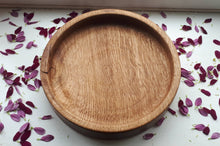 Load image into Gallery viewer, Beautiful Hand turned ash, köben style fruit bowl/serving dish/decorative ornament.