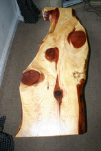 Load image into Gallery viewer, Beautiful rare Sequoia wood live edge coffee table.