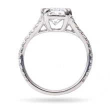Load image into Gallery viewer, Custom-Made 2.79 ct Platinum Diamond Ring