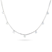 Load image into Gallery viewer, Diamond Necklace (7 Stones)