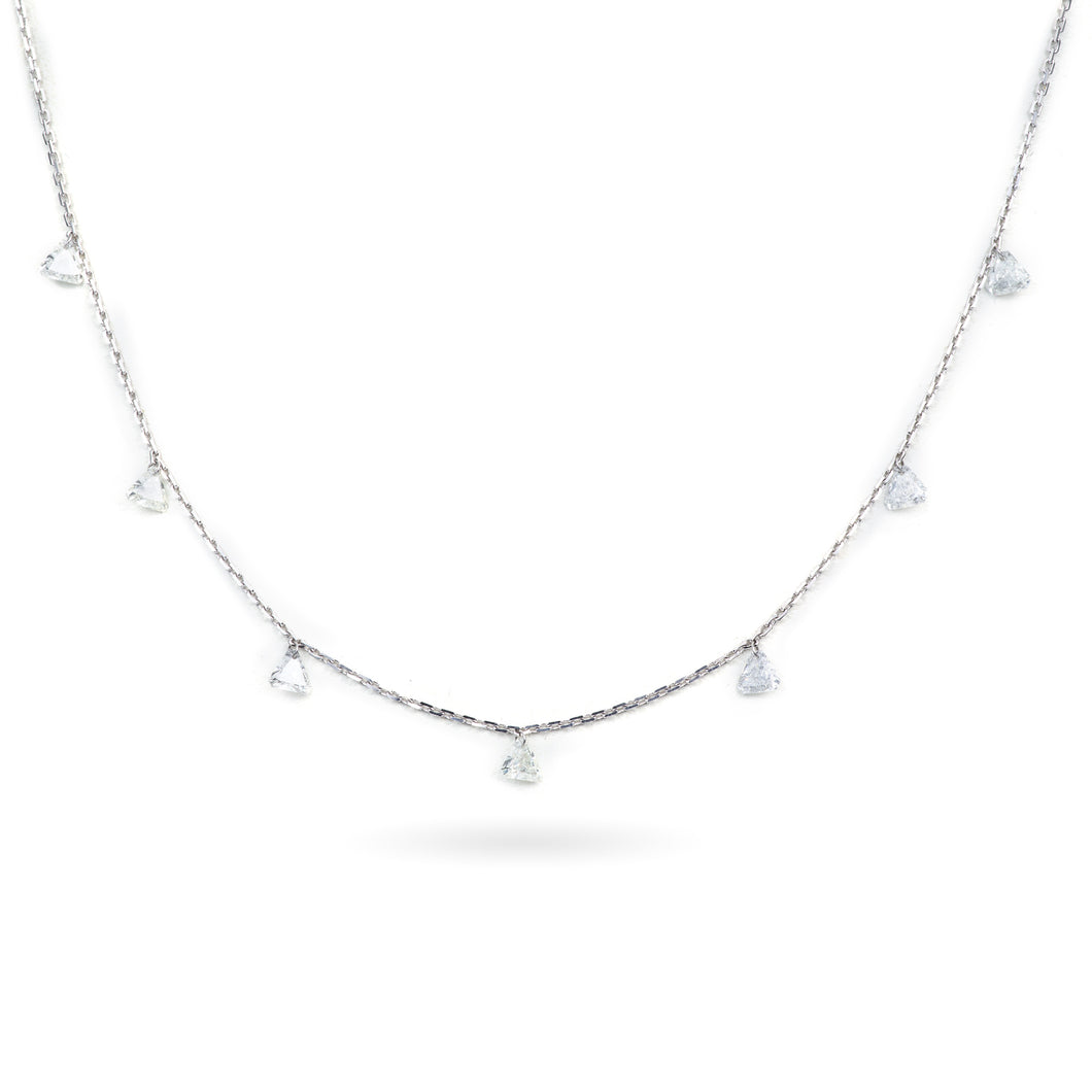 Diamond Necklace (7 Stones)