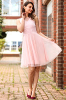Women's Tinsel Powder Rose Dress