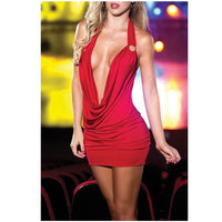 Vadim Gothic Women Deep V-Neck Sexy Bodycon Mini Dress Bandage Sleeveless Party Short Mini Dress Lady Club Dress Mujer Vestido