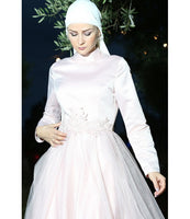 Women's Powder Rose Evening Dress