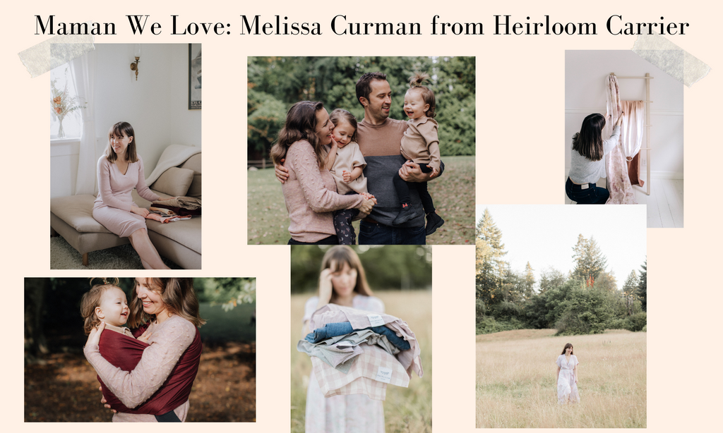 Choix Maman We Love Melissa Curman Heirloom Carrier Babywearing