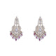 Tourmaline Polki Earrings