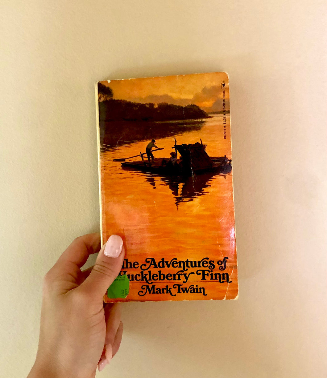 The Adventures of Huckleberry Fin by Mark Twain