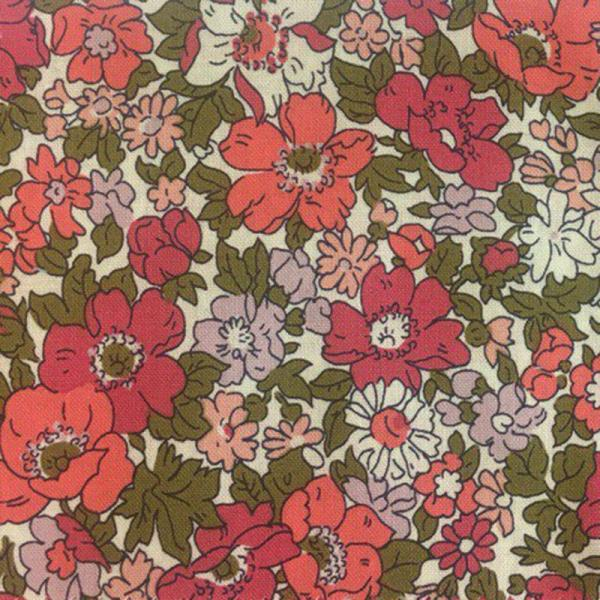 Cottage Garden Cosmos Meadow - Liberty of London Fabric