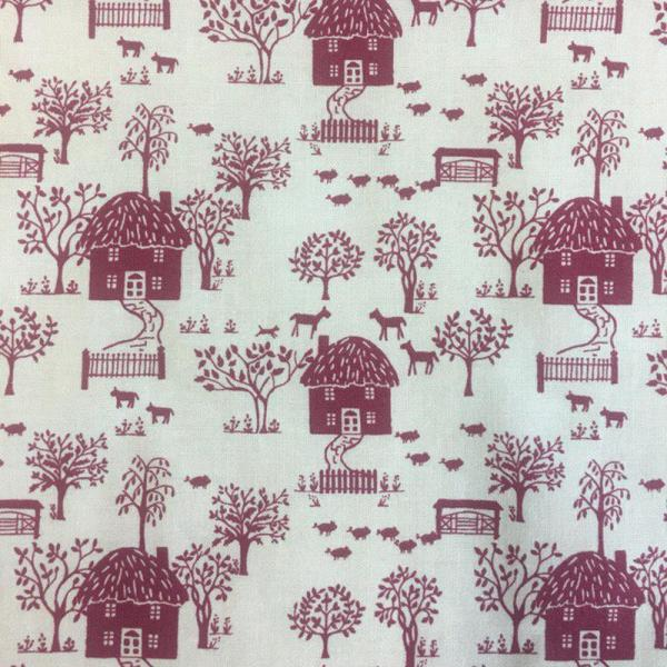 Cottage Garden Cottage Lane - Liberty of London Fabric