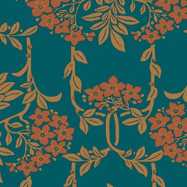 Hesketh House Nouveau Mayflower - Liberty of London Fabric