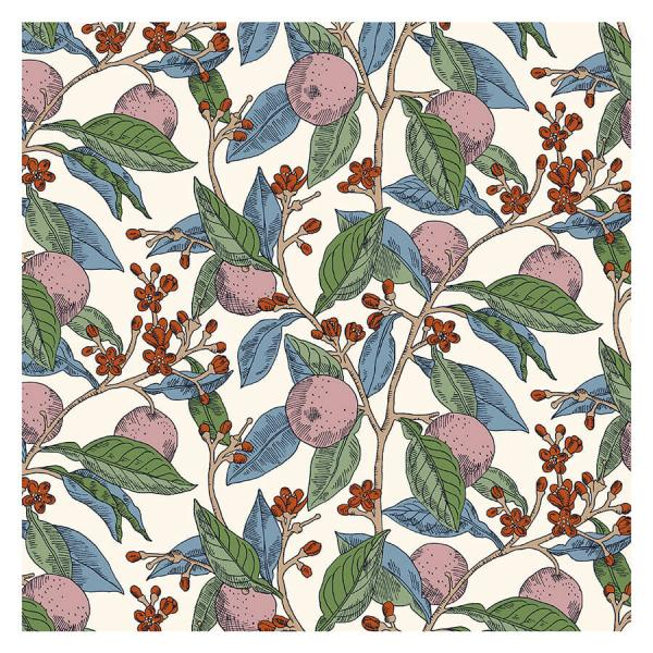 Summer House Conservatory Fruits - Liberty of London Fabric