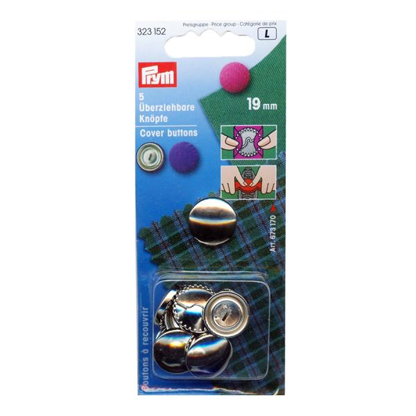 Prym Cover Buttons (19mm)