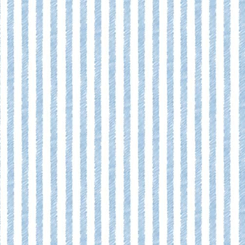 Honey Bunny Palette Stripe - Blue