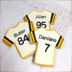 Football Jersey Cookie Favor
