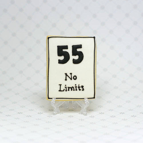 55 Speed Limit Cookie Favor