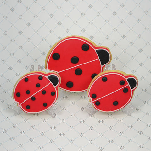 Lady Bug Cookie Favor
