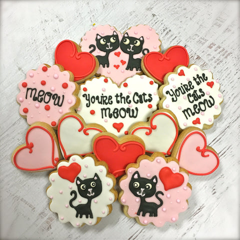 Kitties in Love Cookie Gift Box