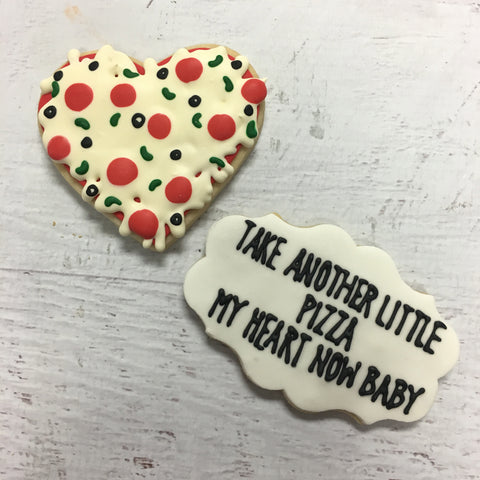 Pizza My Heart Cookie Pair