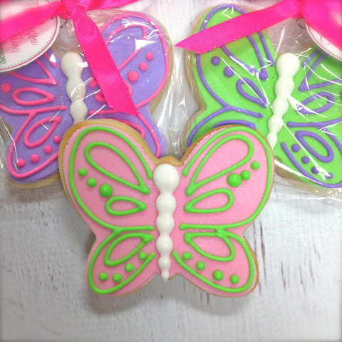 Butterfly Cookie Favor