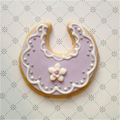 Baby Bib Cookie Favor