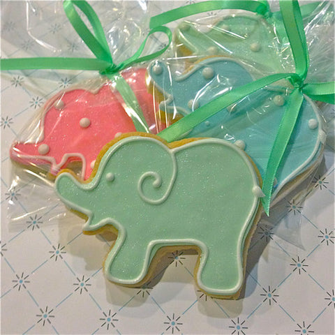 Elephant (Baby) Cookie Favor