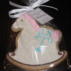 Rocking Horse Cookie Favor