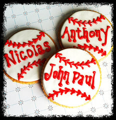 Baseball Cookie