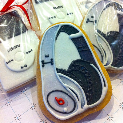 Headphone Cookie Favor