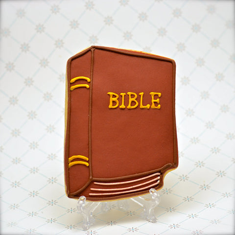 Bible (Book) Cookie Favor