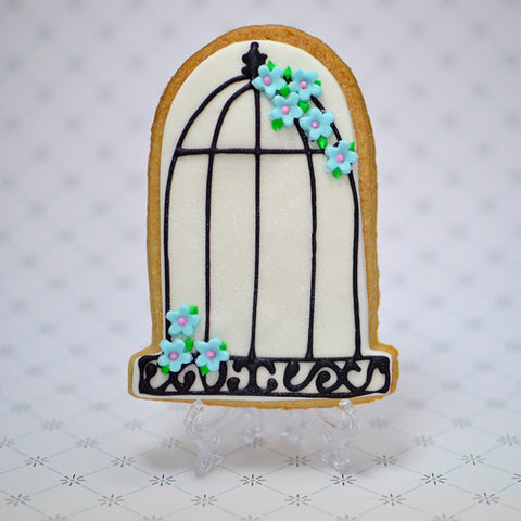 Birdcage Cookie Favor